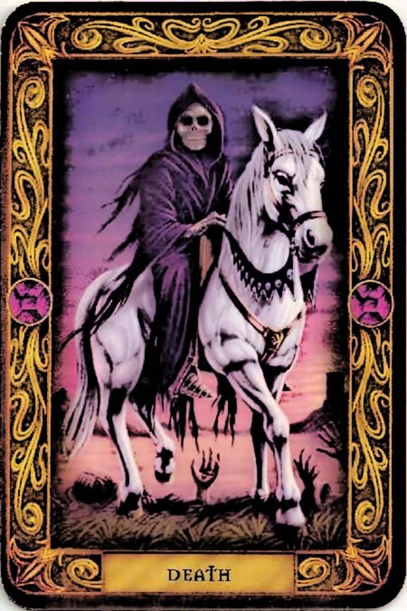 Many fear cards such as the Death card, however it is not evil, nor sa ign of doom. The Death Card stands for change and transformation.