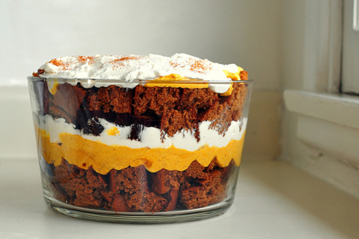 Easy Pumpkin Gingerbread Trifle Recipe