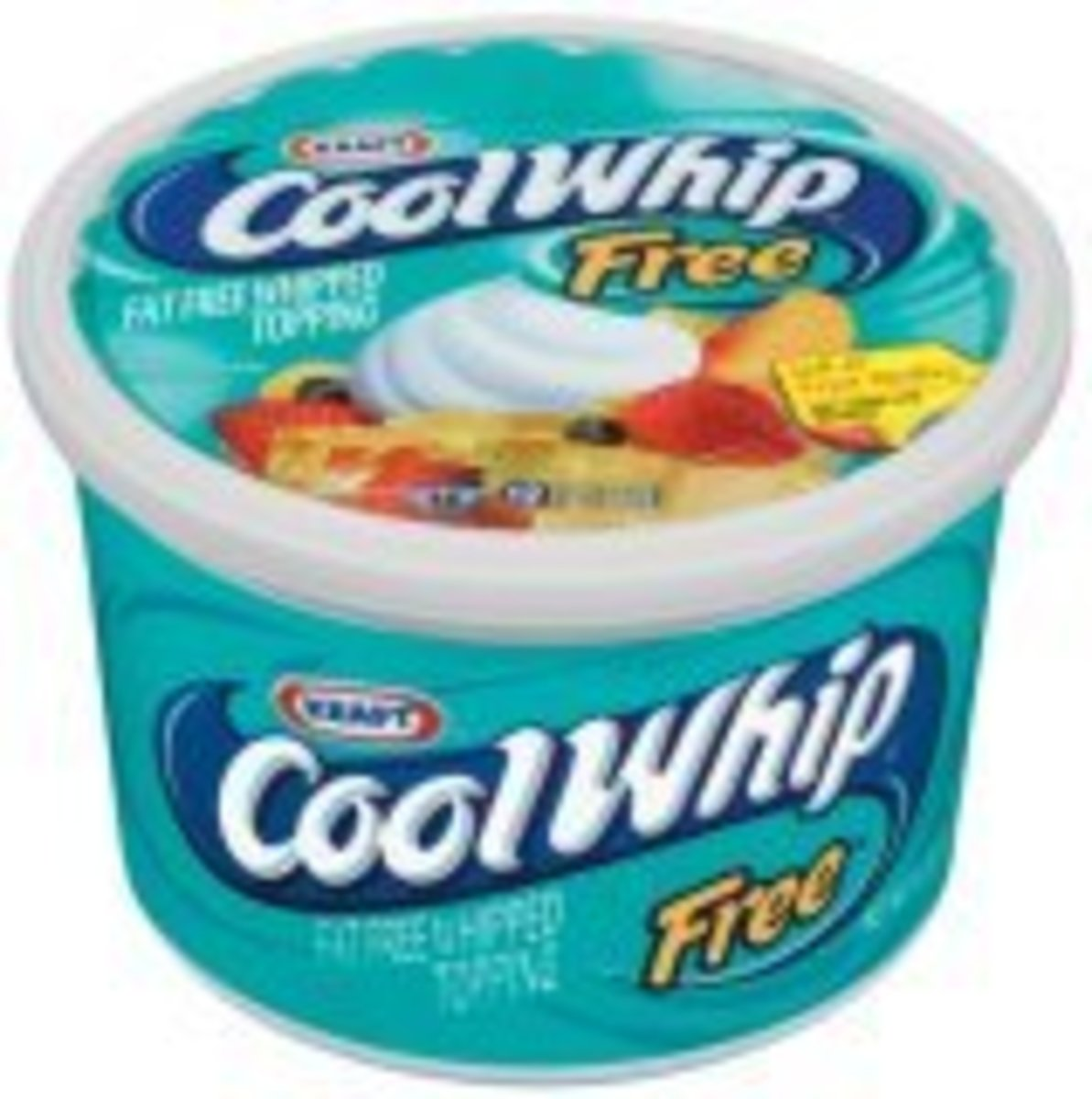 Try lite, sugar free or fat free whipped topping