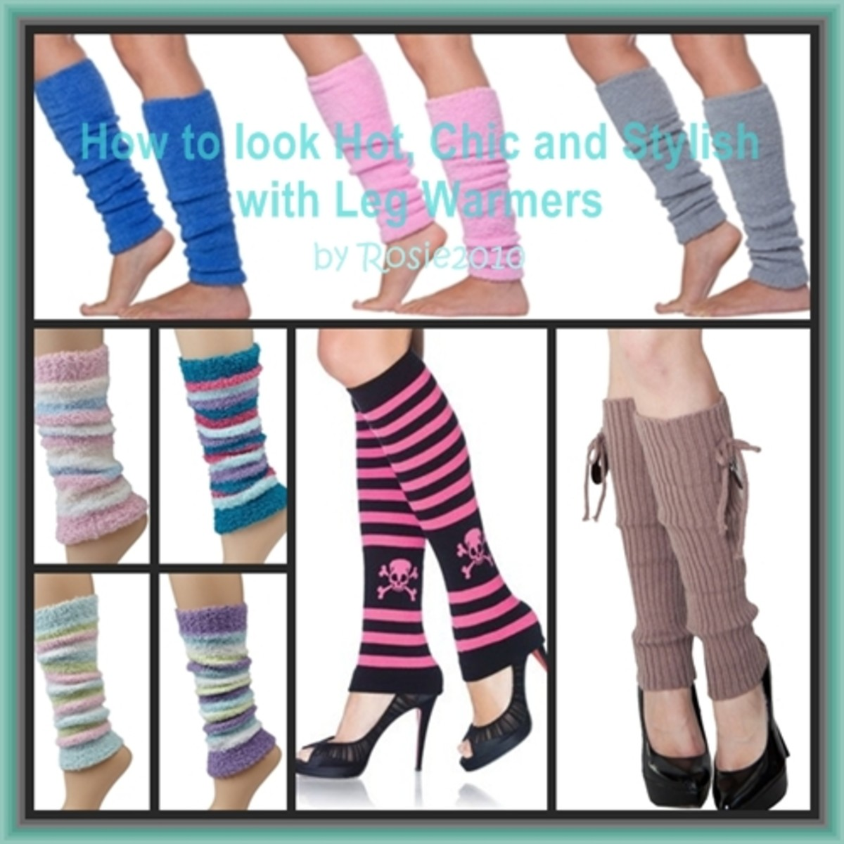 How to Look Hot, Chic and Stylish with Leg Warmers - Fashion Accessories