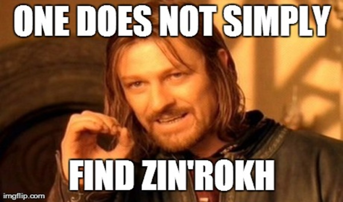 How to find Zin'rokh