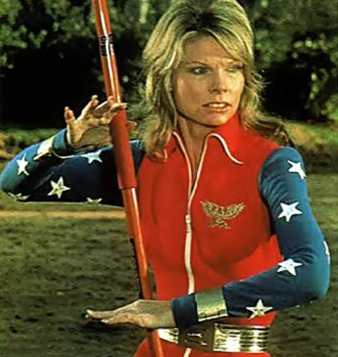 Cathy Lee Crosby as Wonder Woman in made for TV movie (1974)