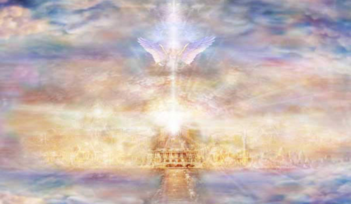 """Heaven"" - artwork by Daniel B. Holeman - www.awakenvisions.com"