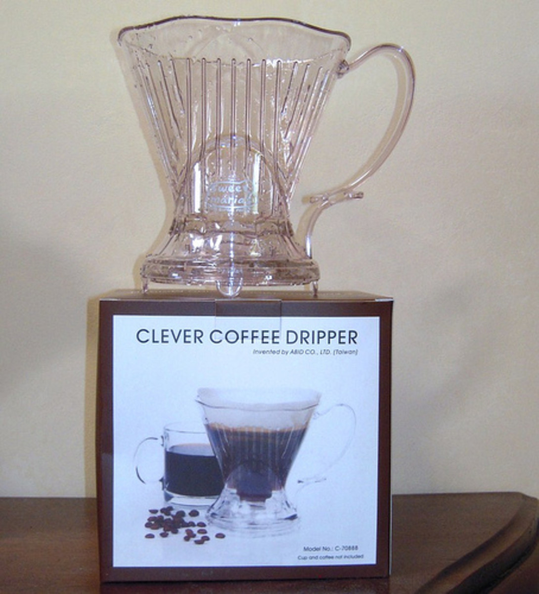 Abid's Clever Coffee Dripper