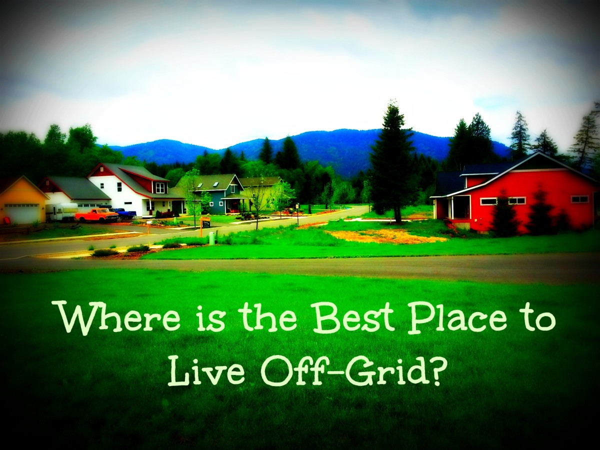 Where is the Best Place to Live Off-Grid?