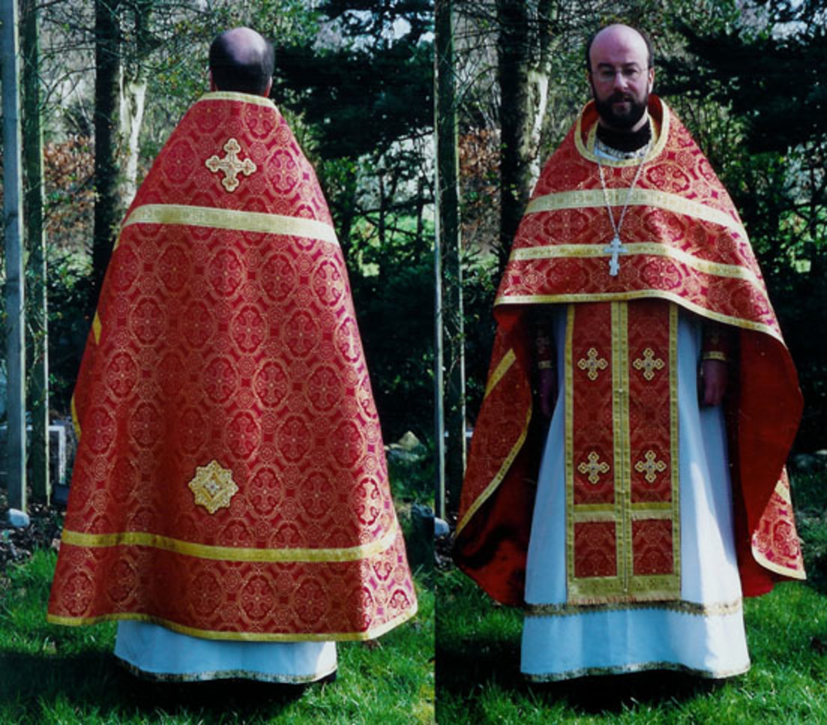 Phelonion - Russian Orthodox Church