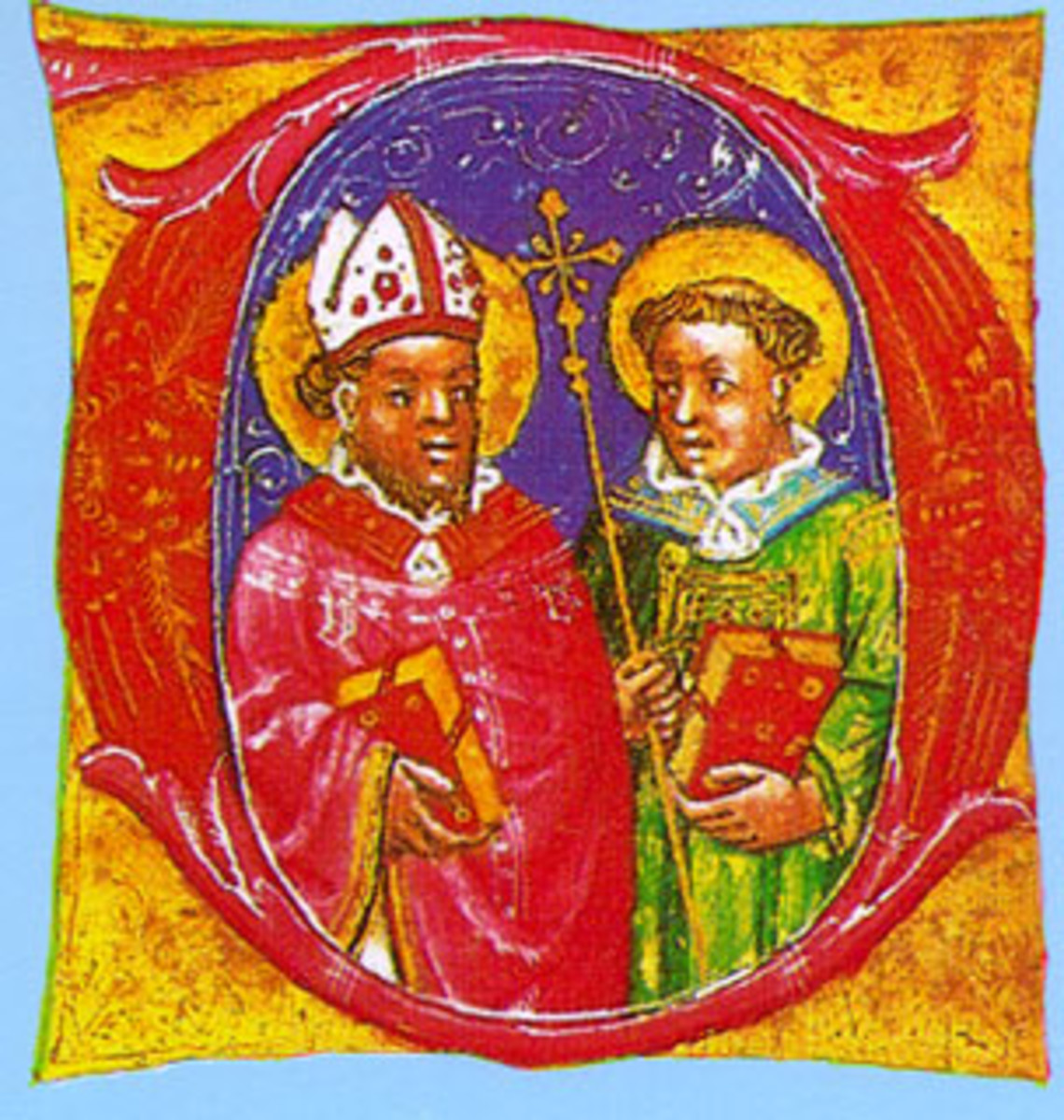 Hermagoras and Fortunatus - Church Icon from the Middle Ages