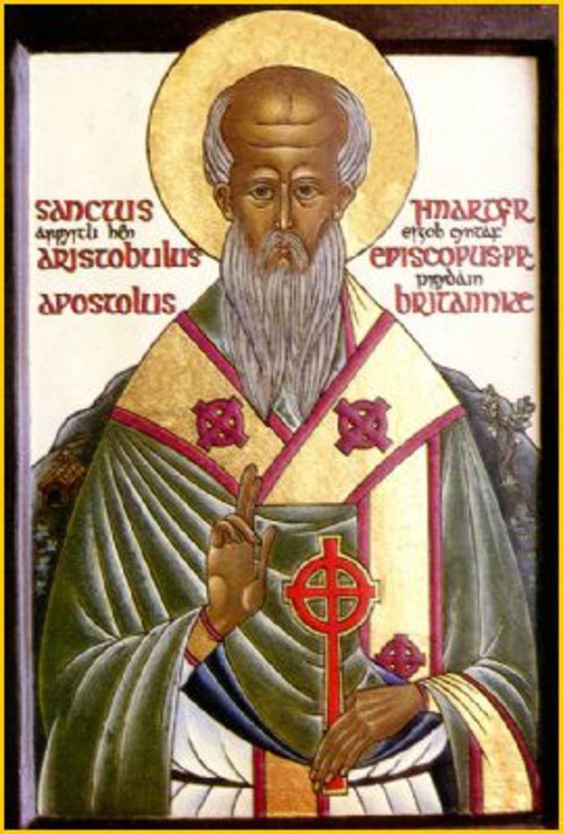 Icon of Aristobulus of Britannia