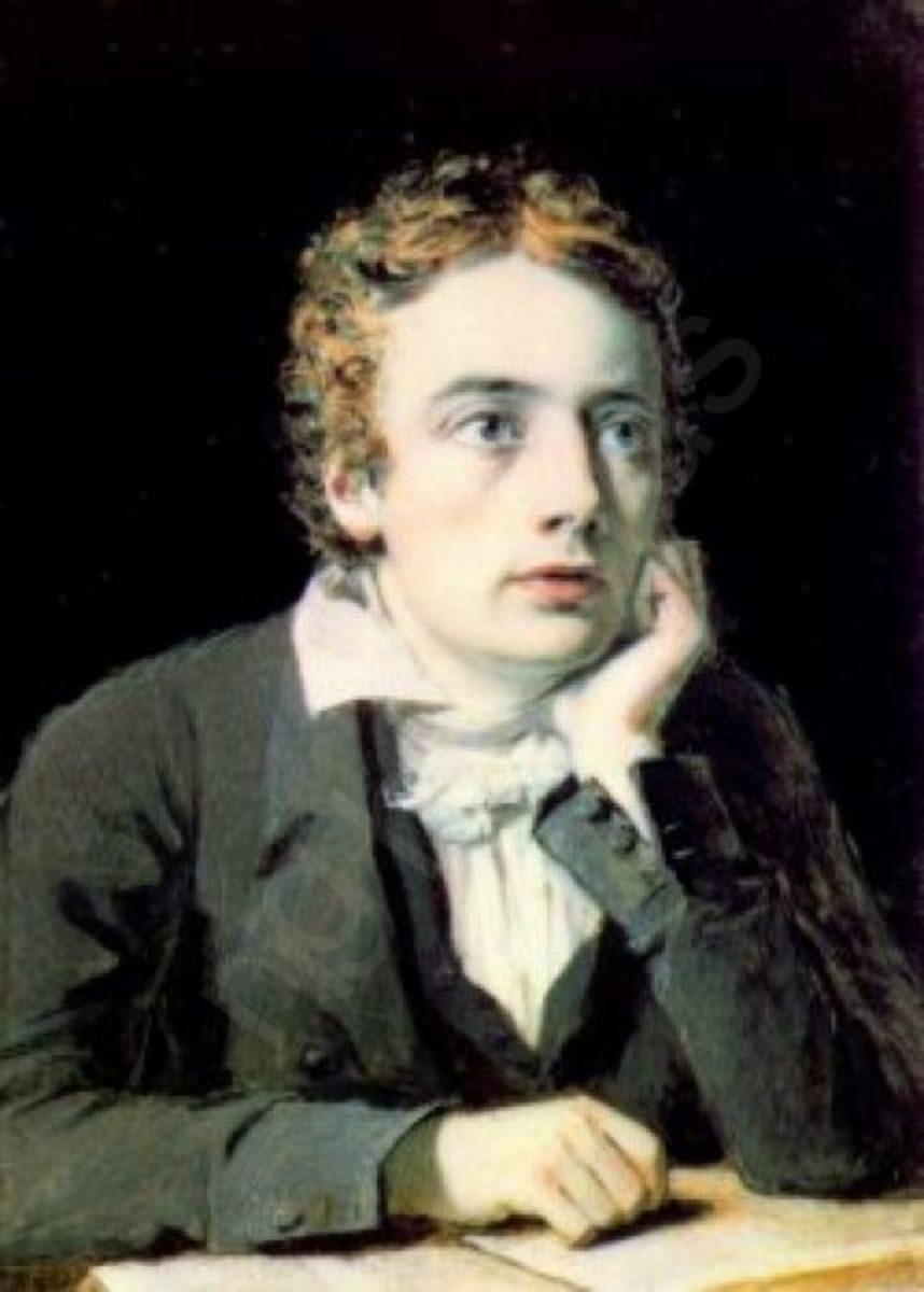John Keats ( 1795- 1821)