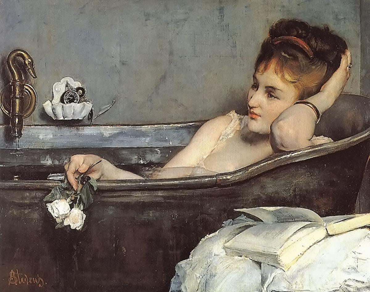 Alfred Stevens - The Bath