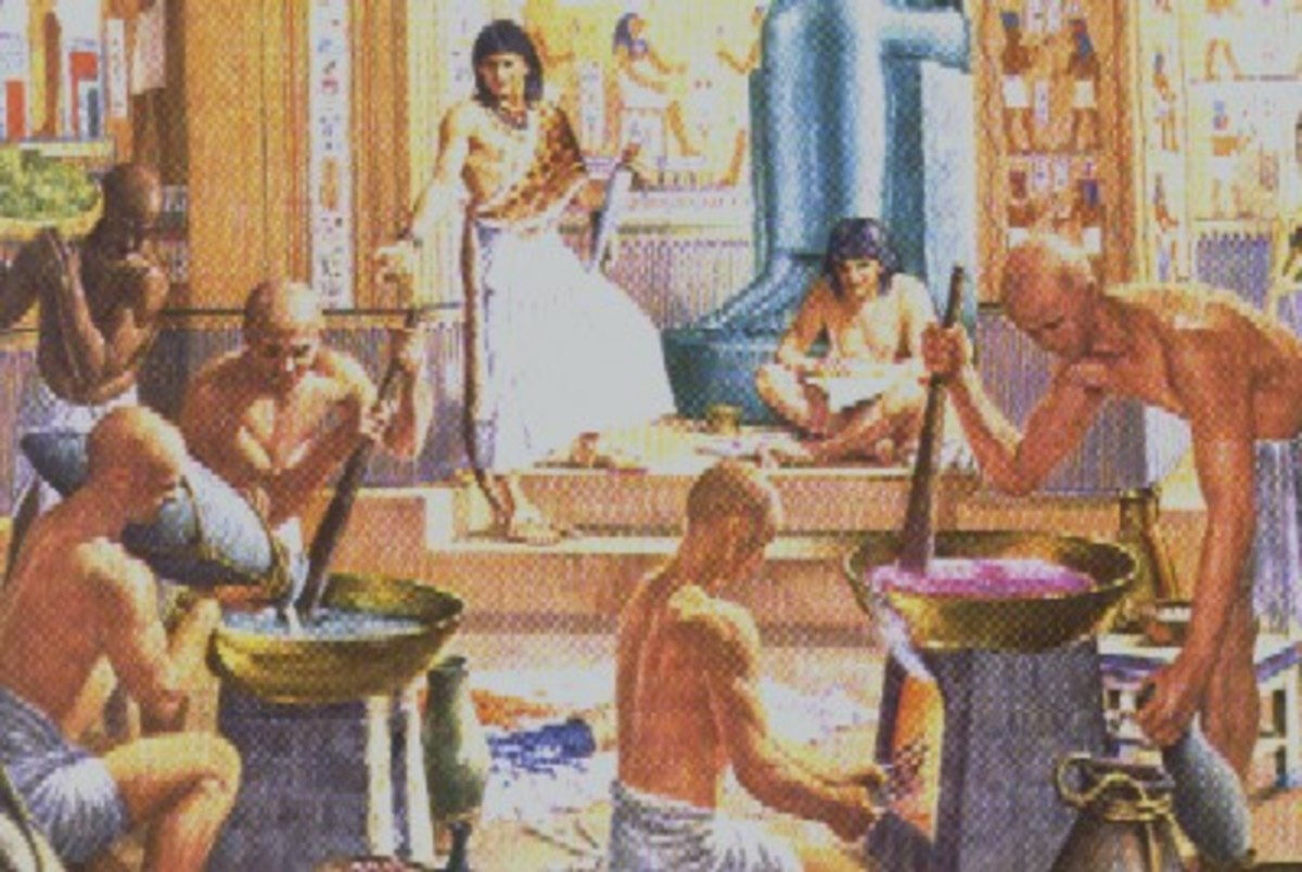Egyptian soap Making?