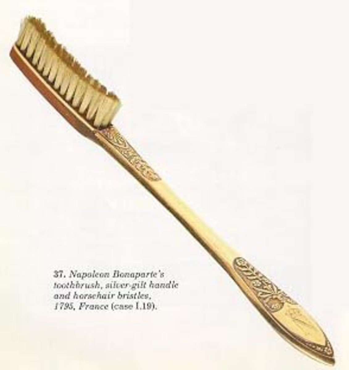 Napolean Bonaparte's Gold toothbrush