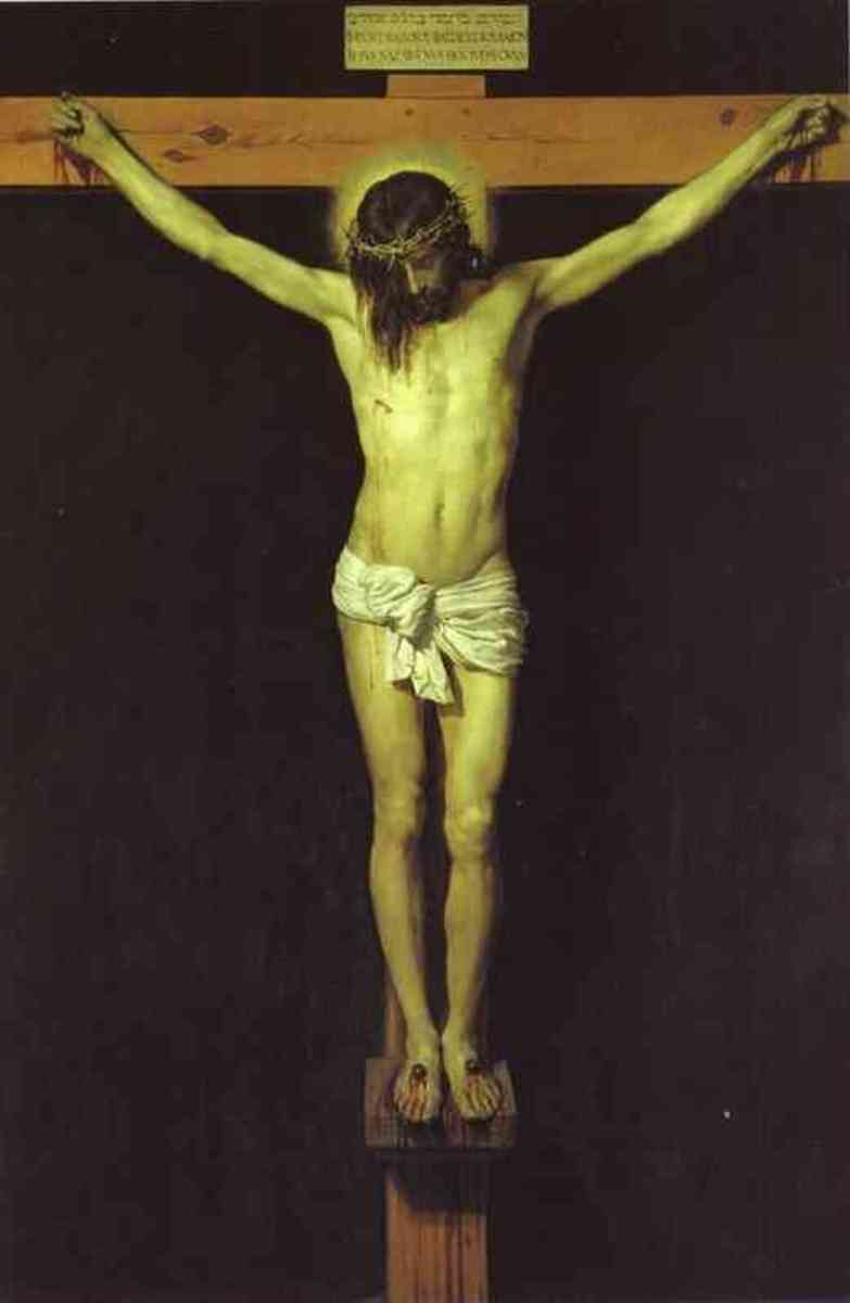 Christ Crucified, Diego Velazquez (1599-1660)
