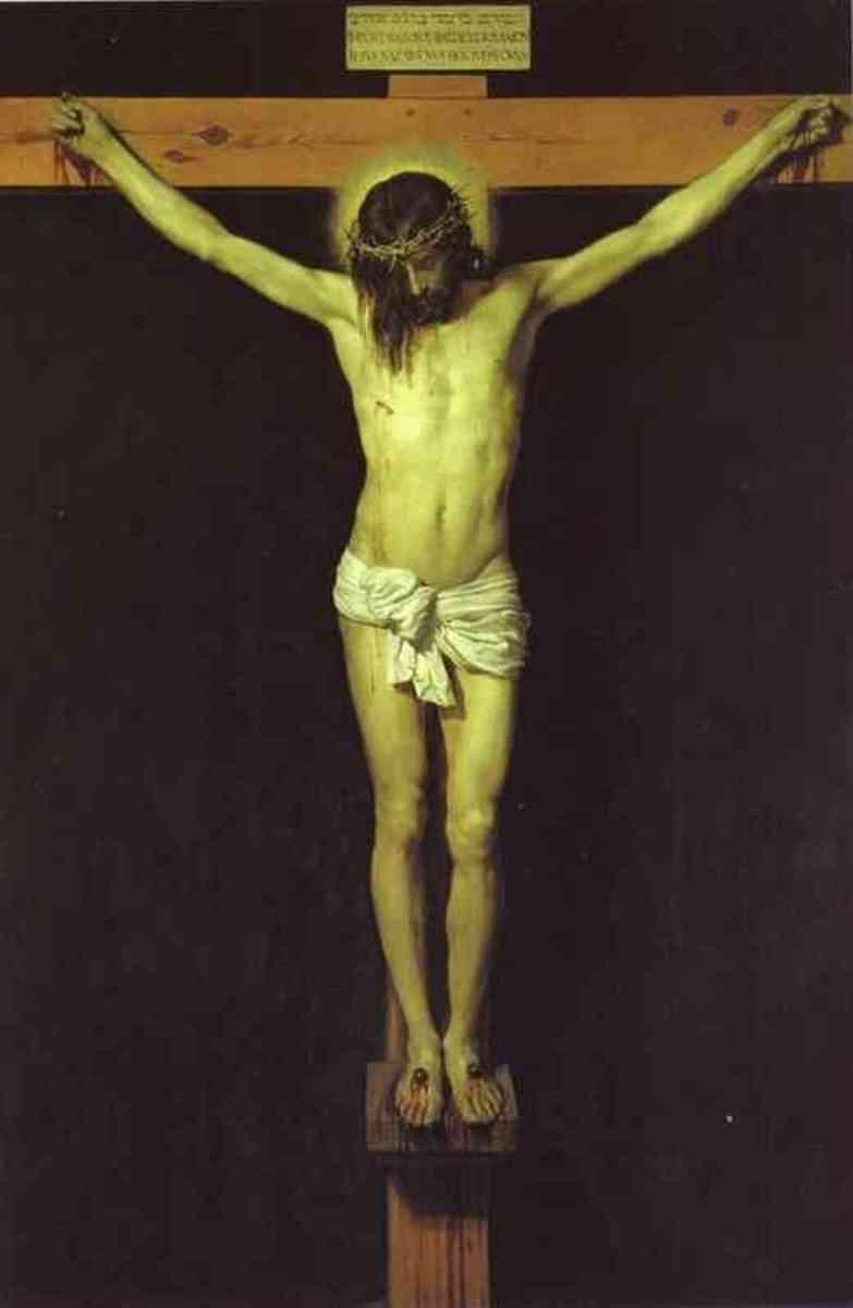 Christ Crucified, Diego Velazquez (1599-1660)