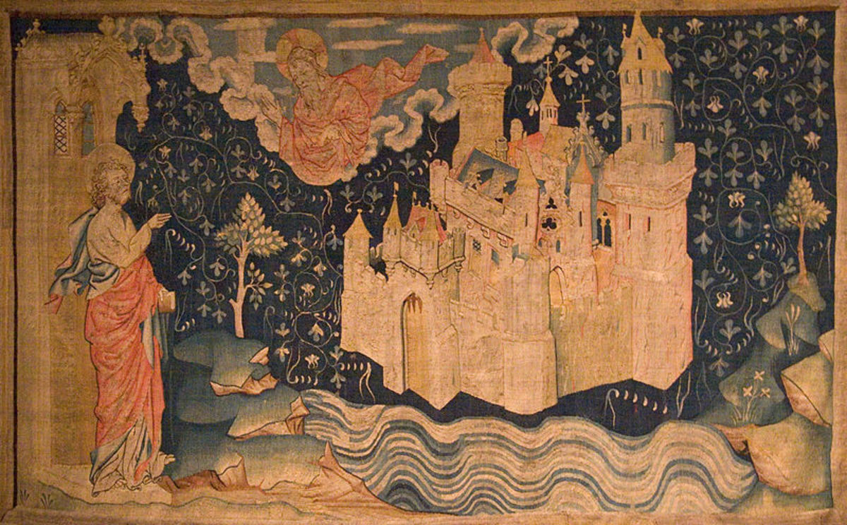 The New Jerusalem Tapestry of the Apocalypse (14th century)