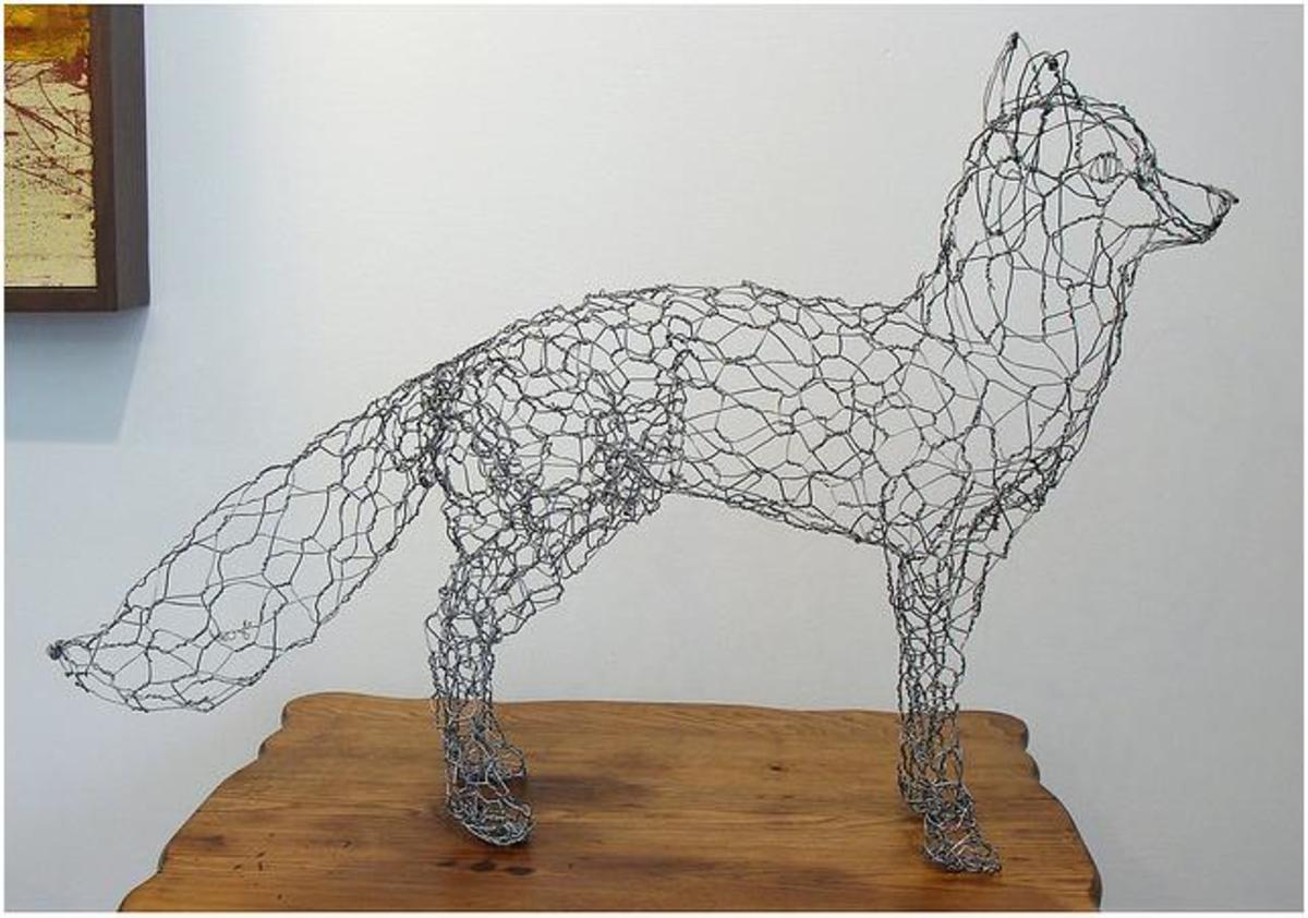 Crafts for men boys to make manly projects to build for Wire art projects