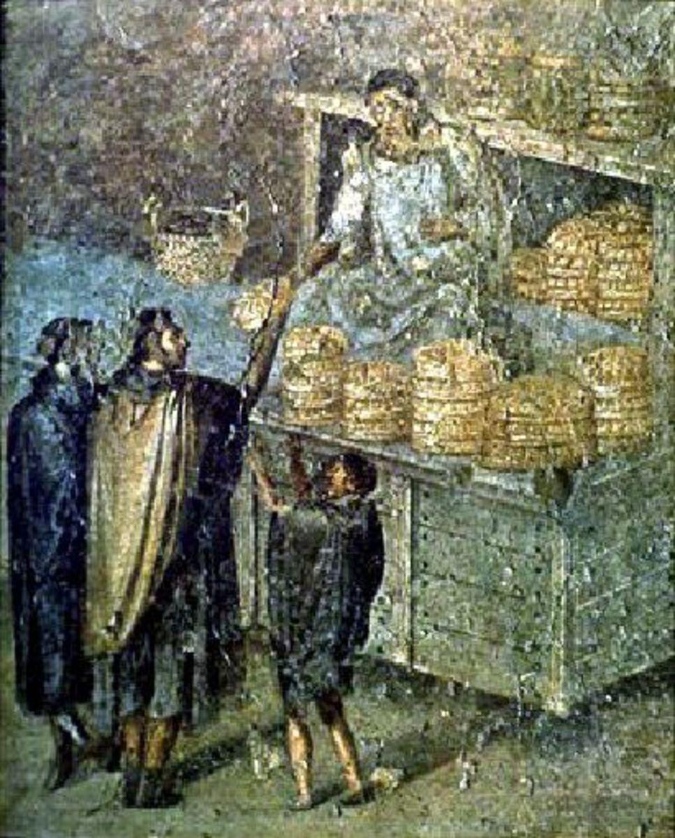 Roman Bread Seller