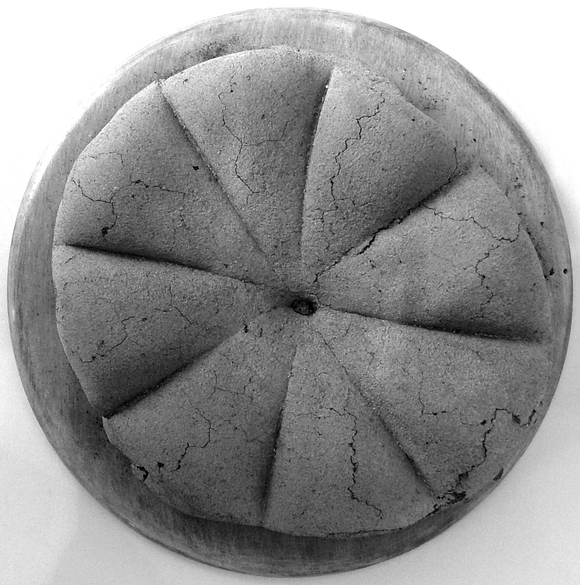 Pompeii, a loaf of Roman bread preserved for 2000 years
