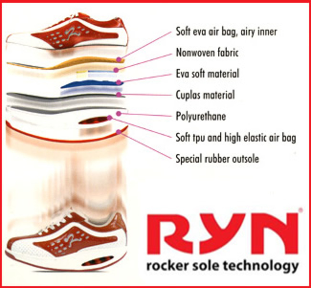 There's more to Ryn Shoes than EVA alone