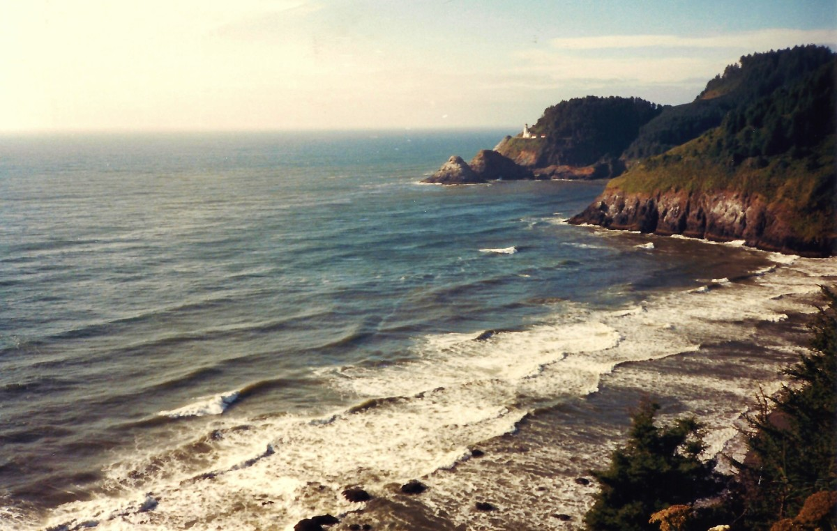 Great Oregon coastline vista!