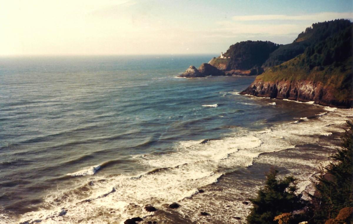 Great Oregon coastline vista!