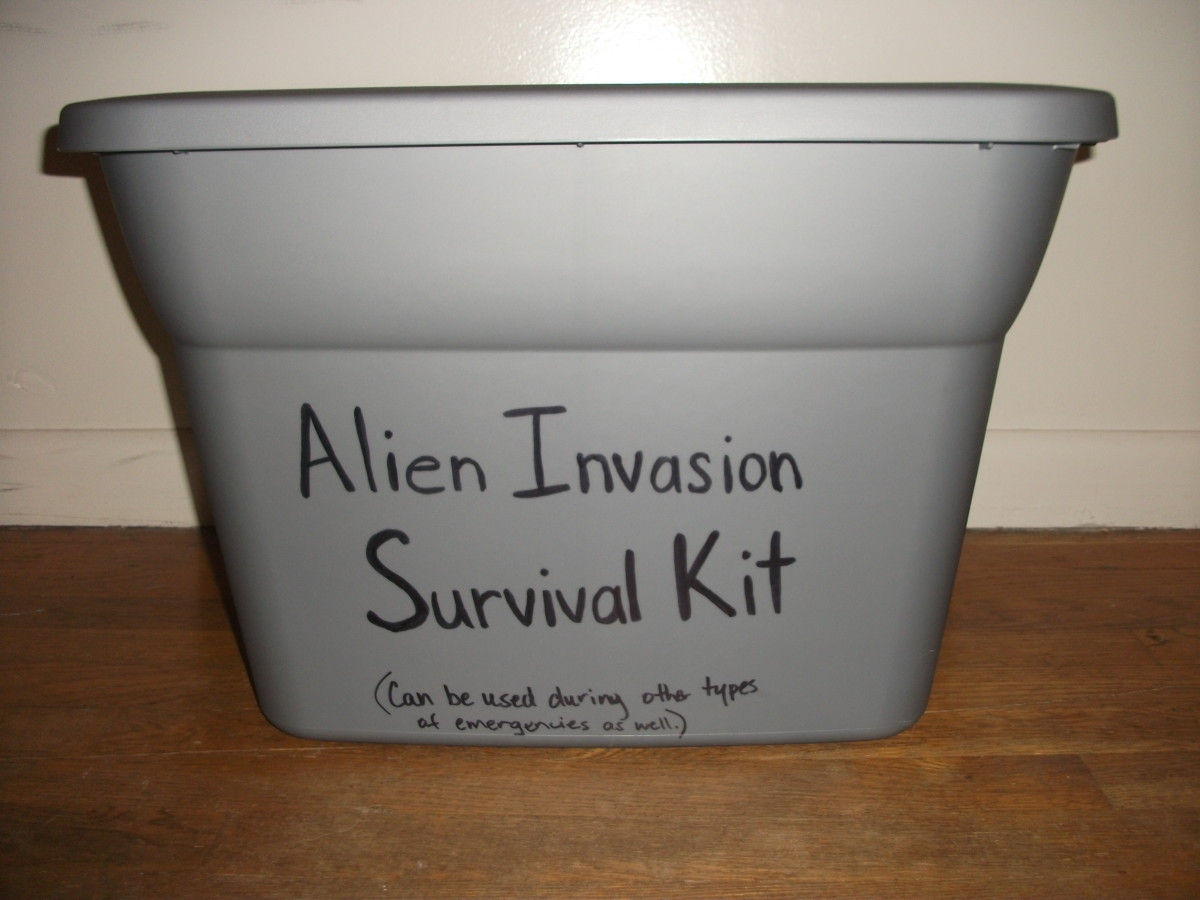 Put your survival gear in a water proof container that you can quickly access.