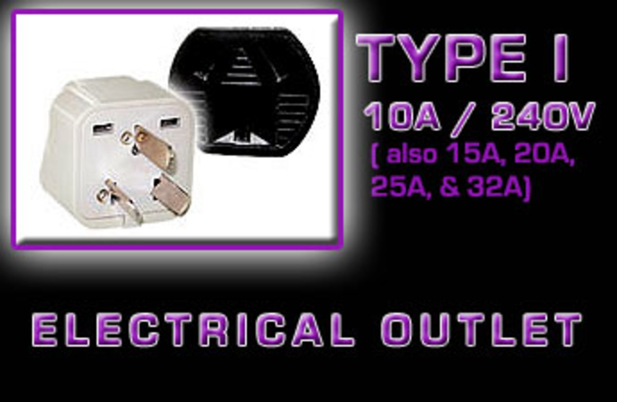 """Type I"" Electrical receptacle"