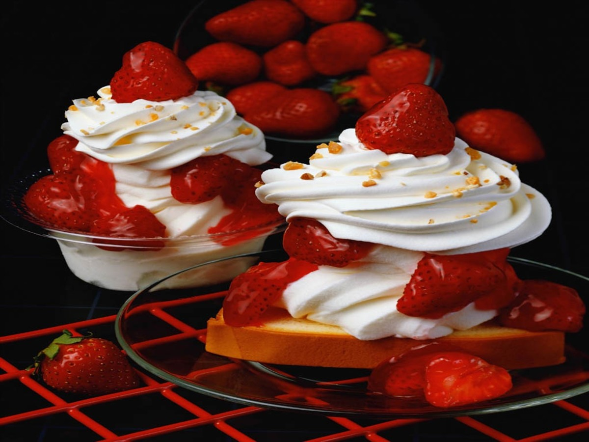Who doesn't love strawberry shortcake?
