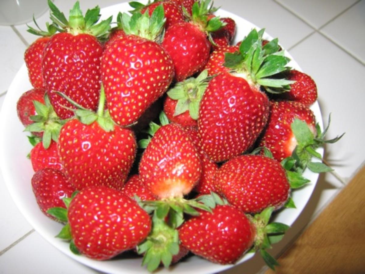 June-bearing Strawberries