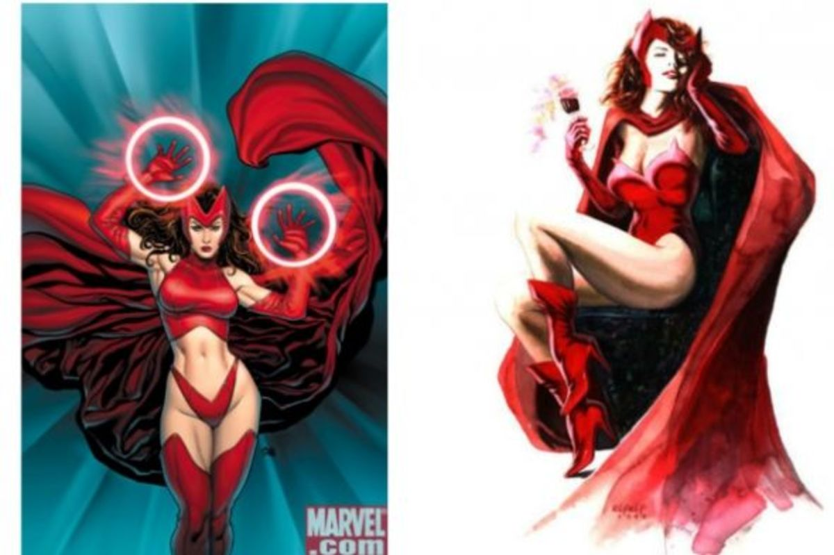 Wanda Maximoff: The Scarlet Witch