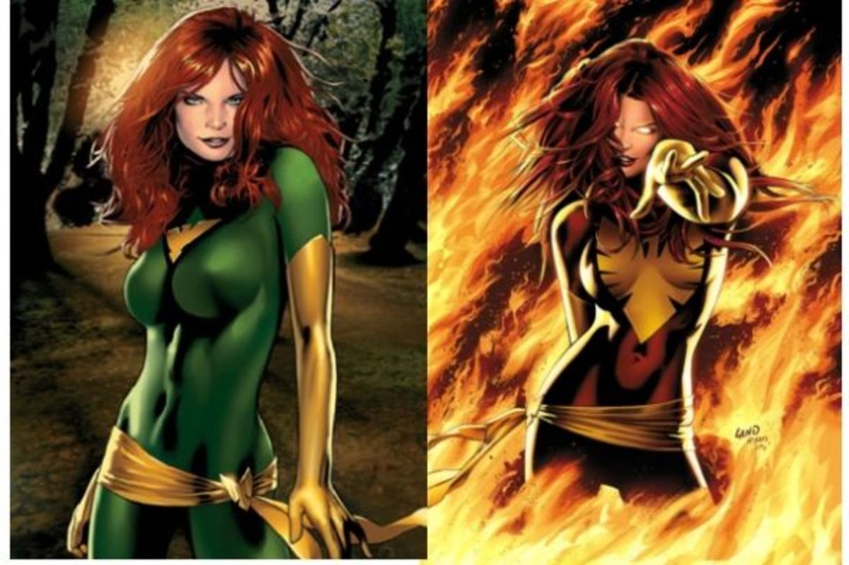 Jean Grey: The Phoenix (and Dark Phoenix)