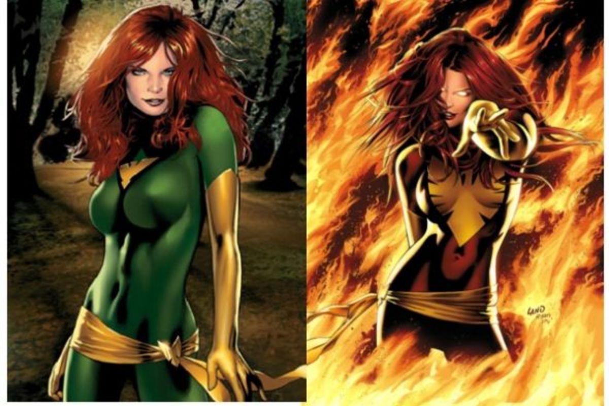 Jean Grey: The Phoenix (and Dark Phoenix)
