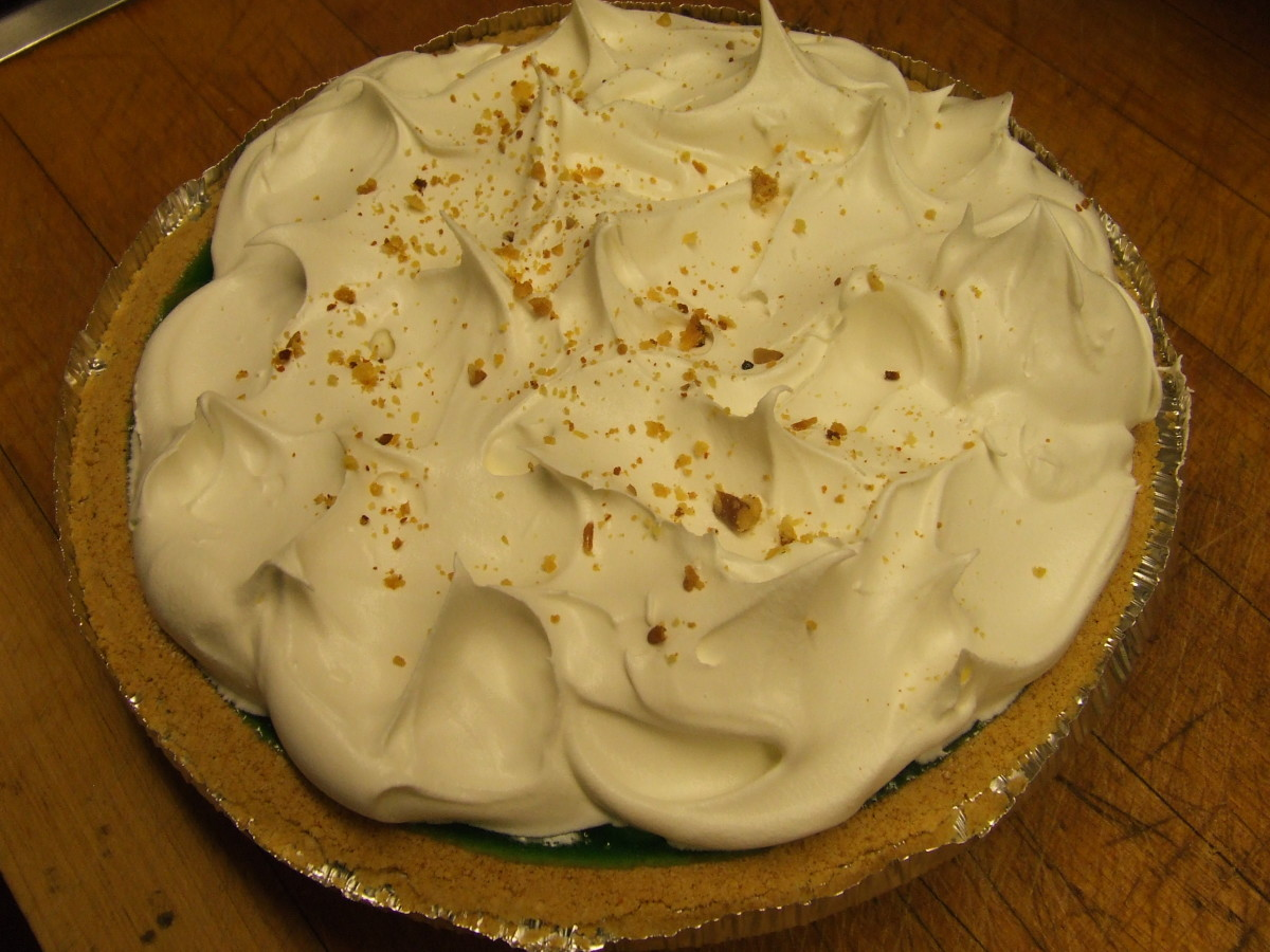 Spread whipped topping on top of cooled pie filling.