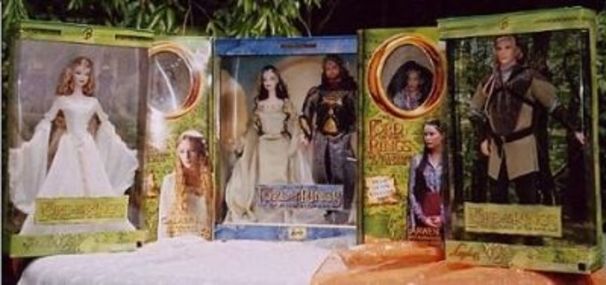 Mattel & Toy Biz LOTR Dolls