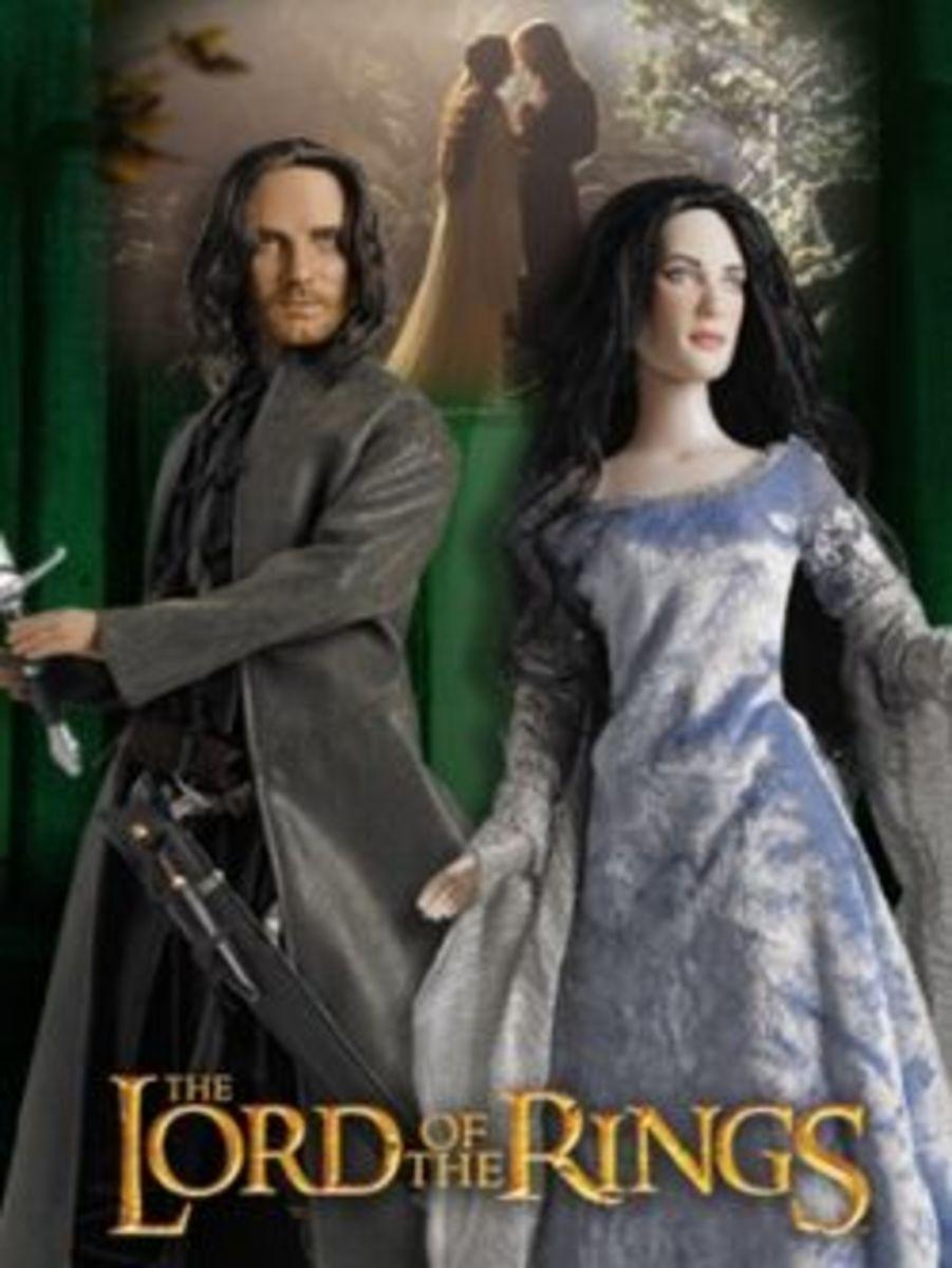 Photo of Tonner Aragorn & Arwen set from press kit