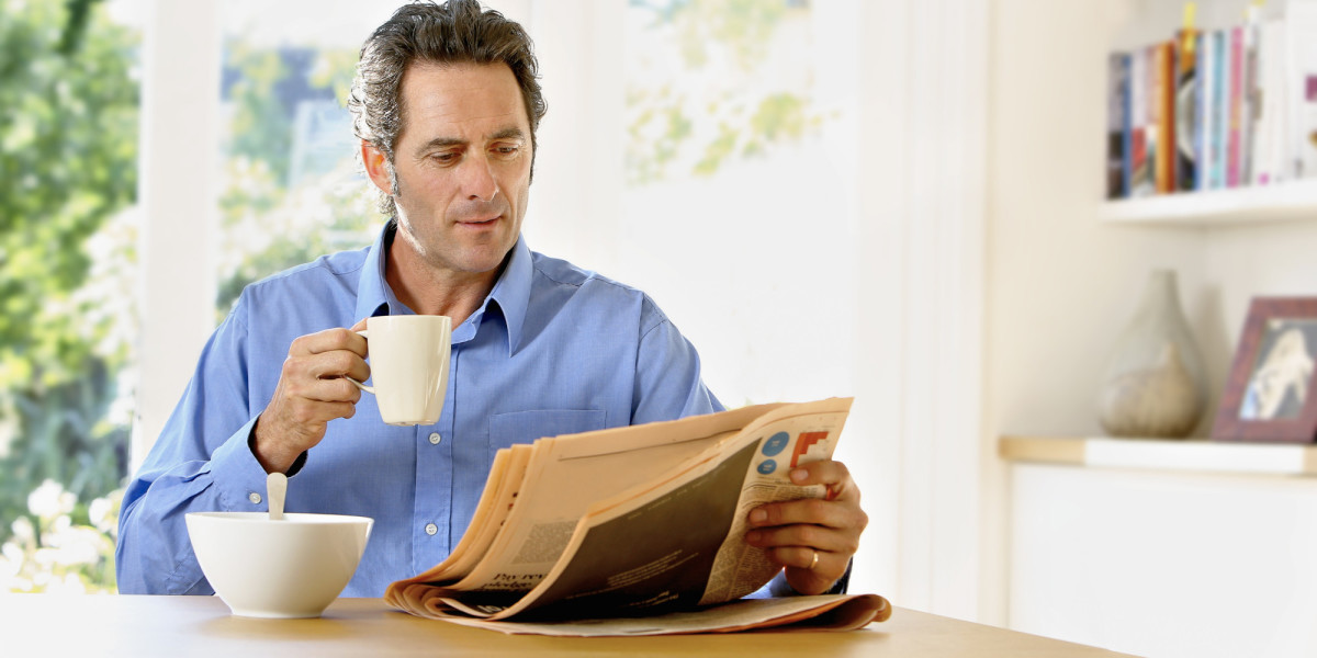 Reading newspaper with the morning tea helps you to start your day in a fresh mind.