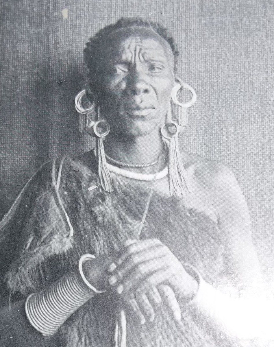 An early Picture of Chief karuri