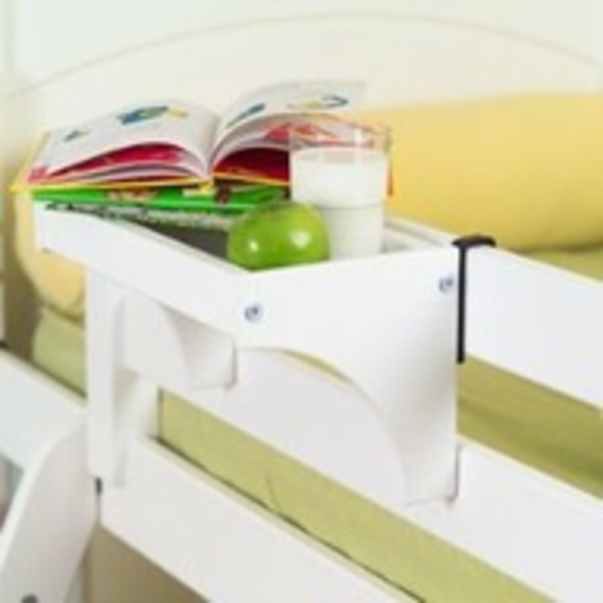 A cute example of a top bunk tray