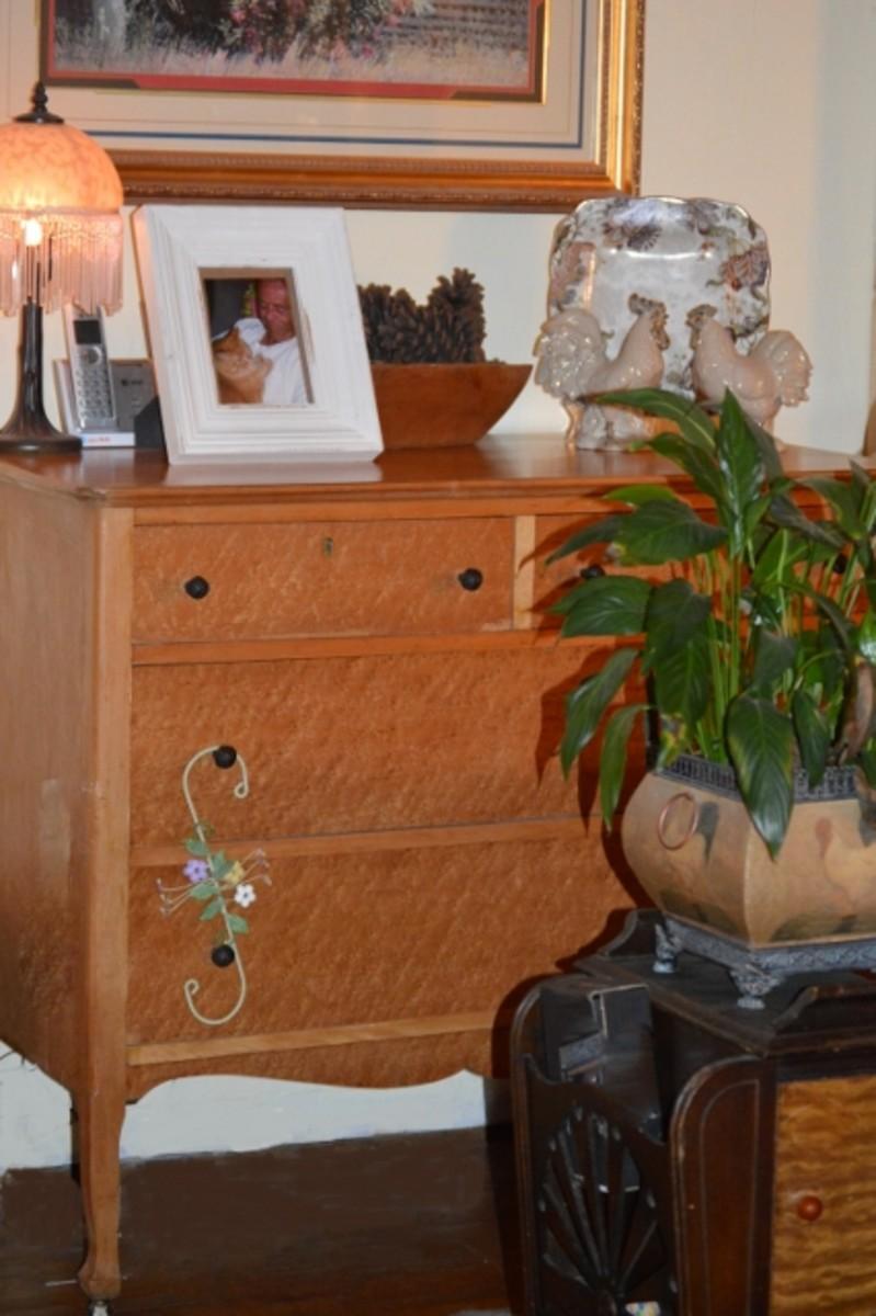 Birdseye Maple Vintage Dresser