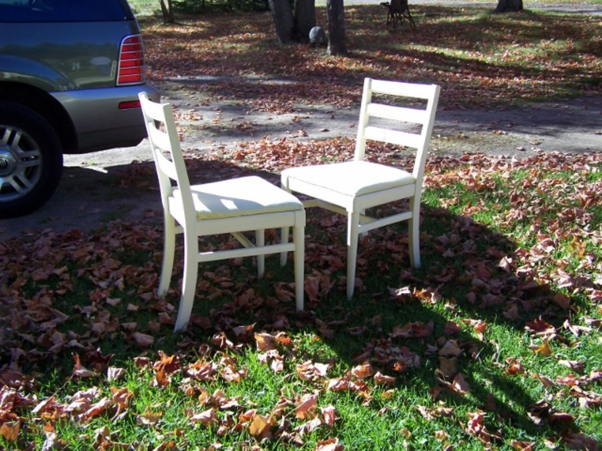 Old Chairs Not Used Yet