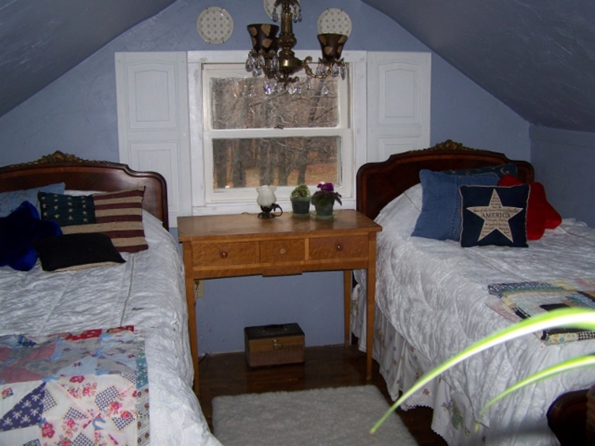 Twin Beds $65.00.