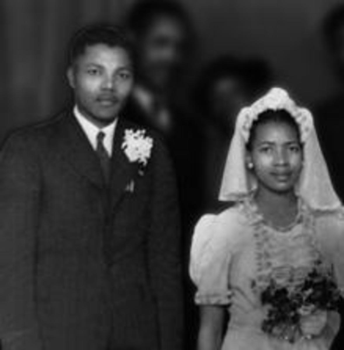 Nelson Mandela and Evelyn Mase (1944)