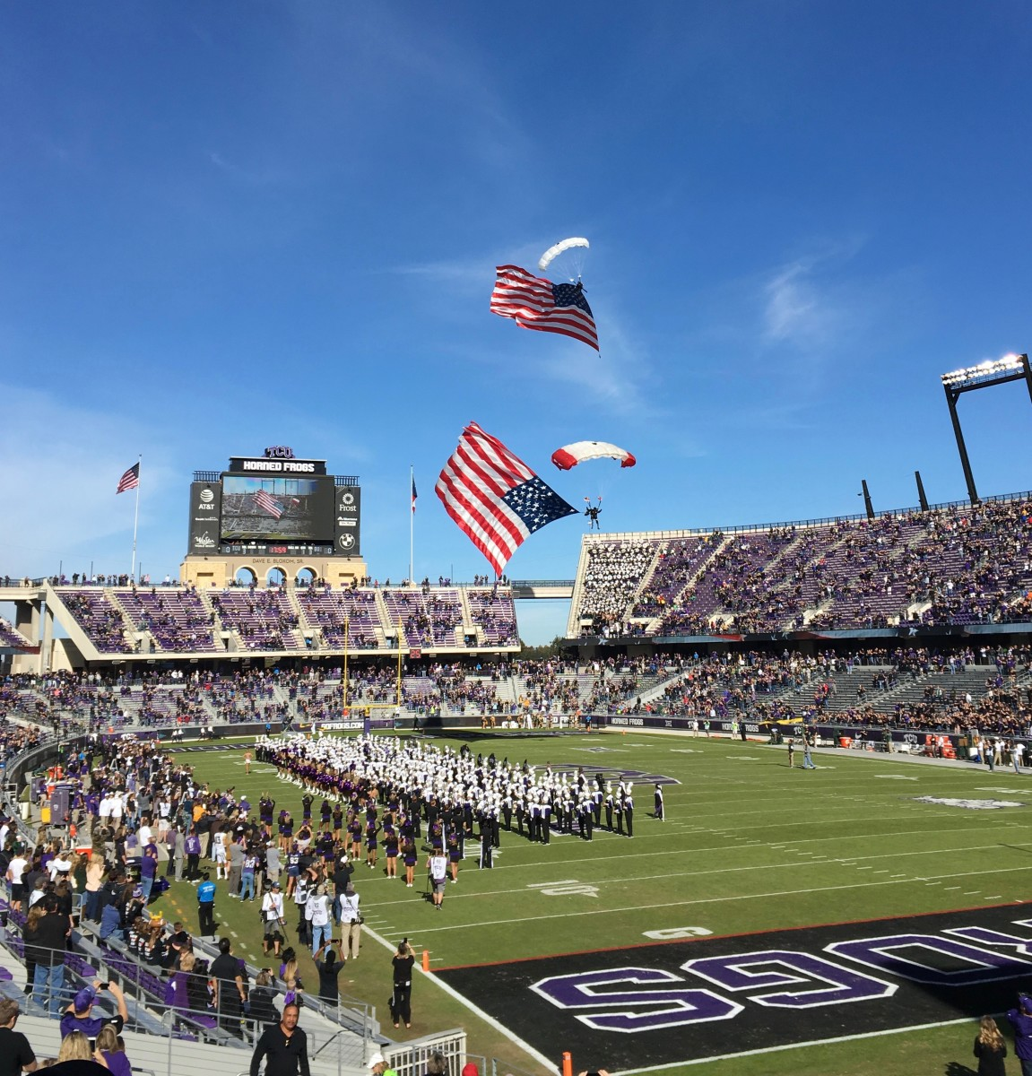TCU Horned Frog Football