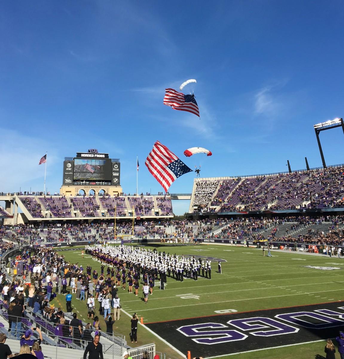 Texas Christian University Horned Frog Football