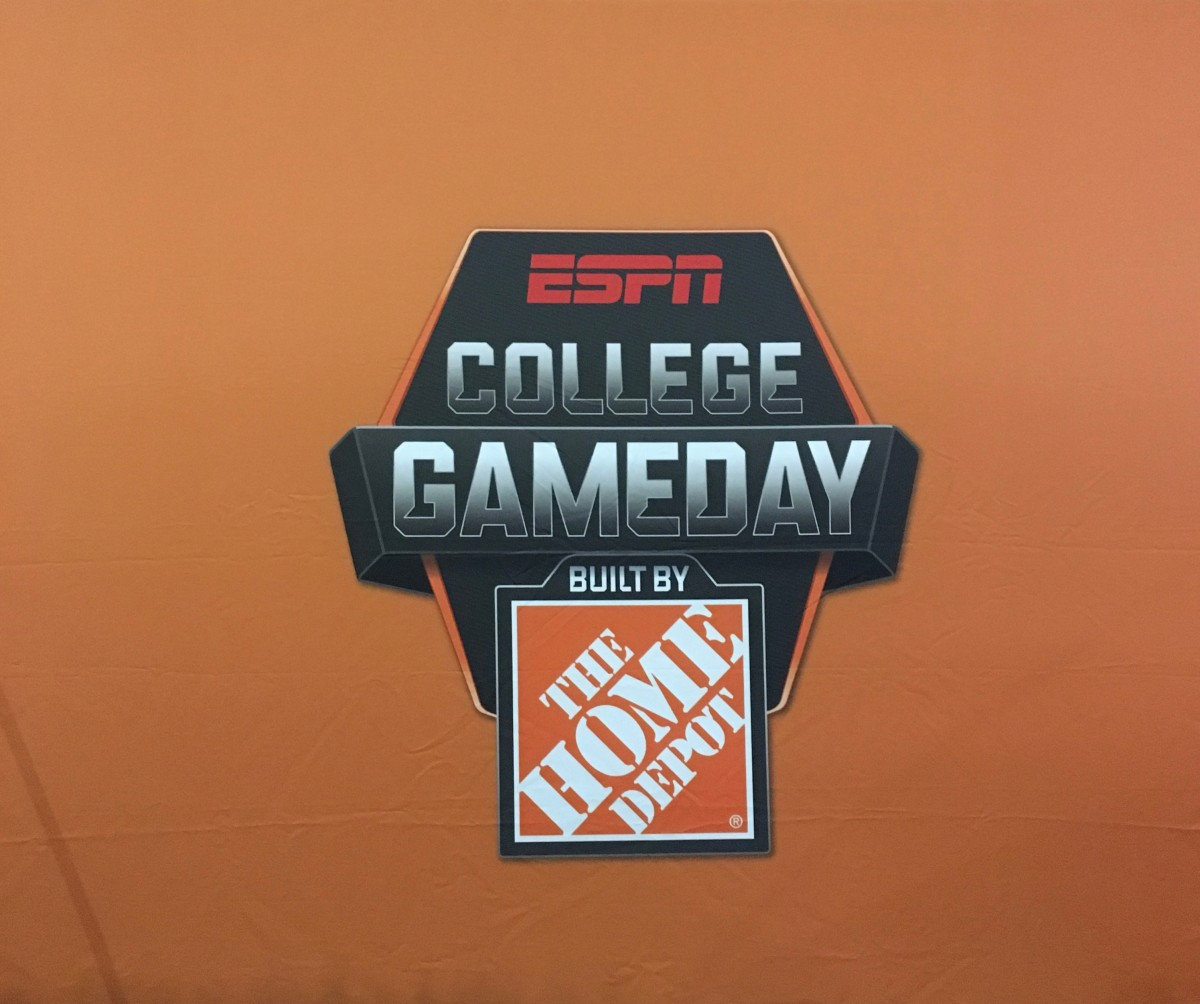 We love when College Game Day comes to campus!  Sept. 15, 2018