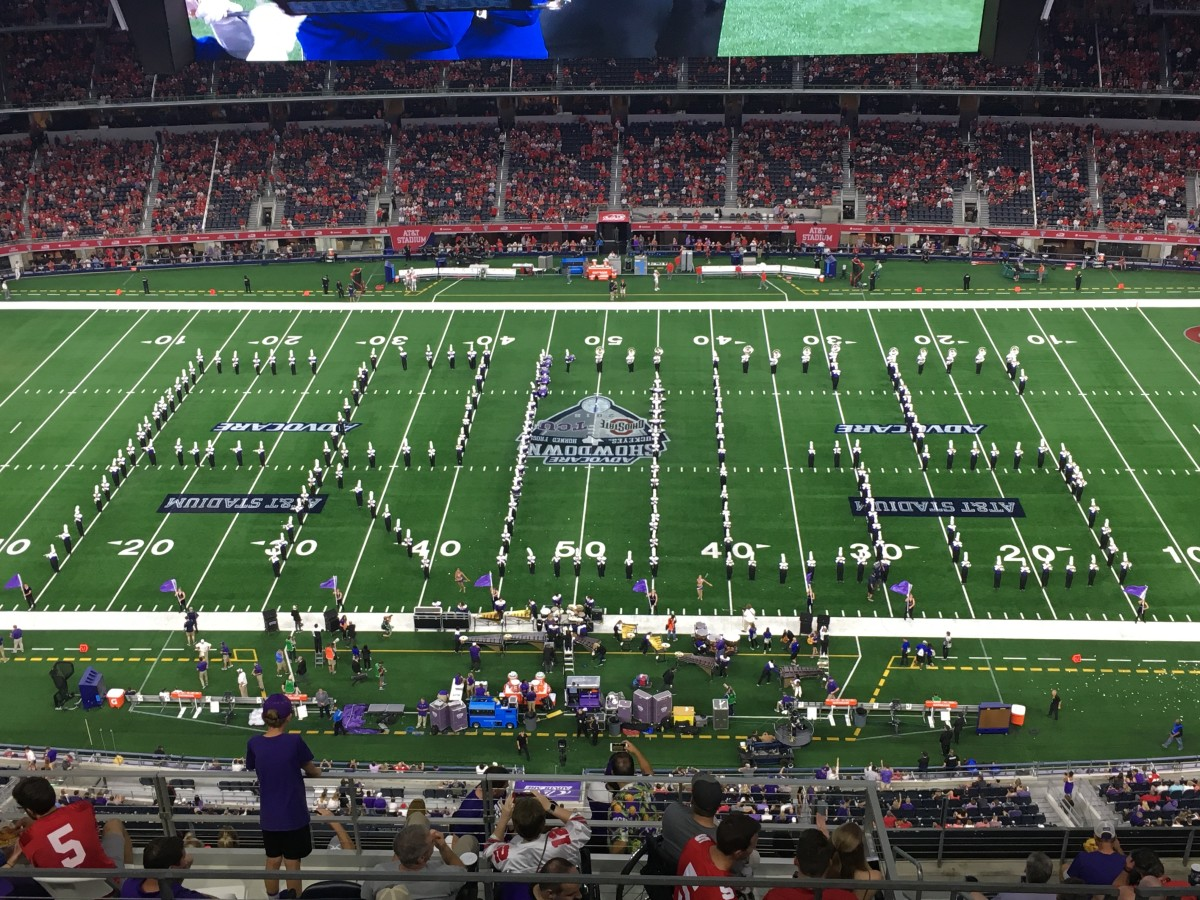 AT&T Stadium pregame vs. Ohio State, Sept. 15, 2018 FROGS