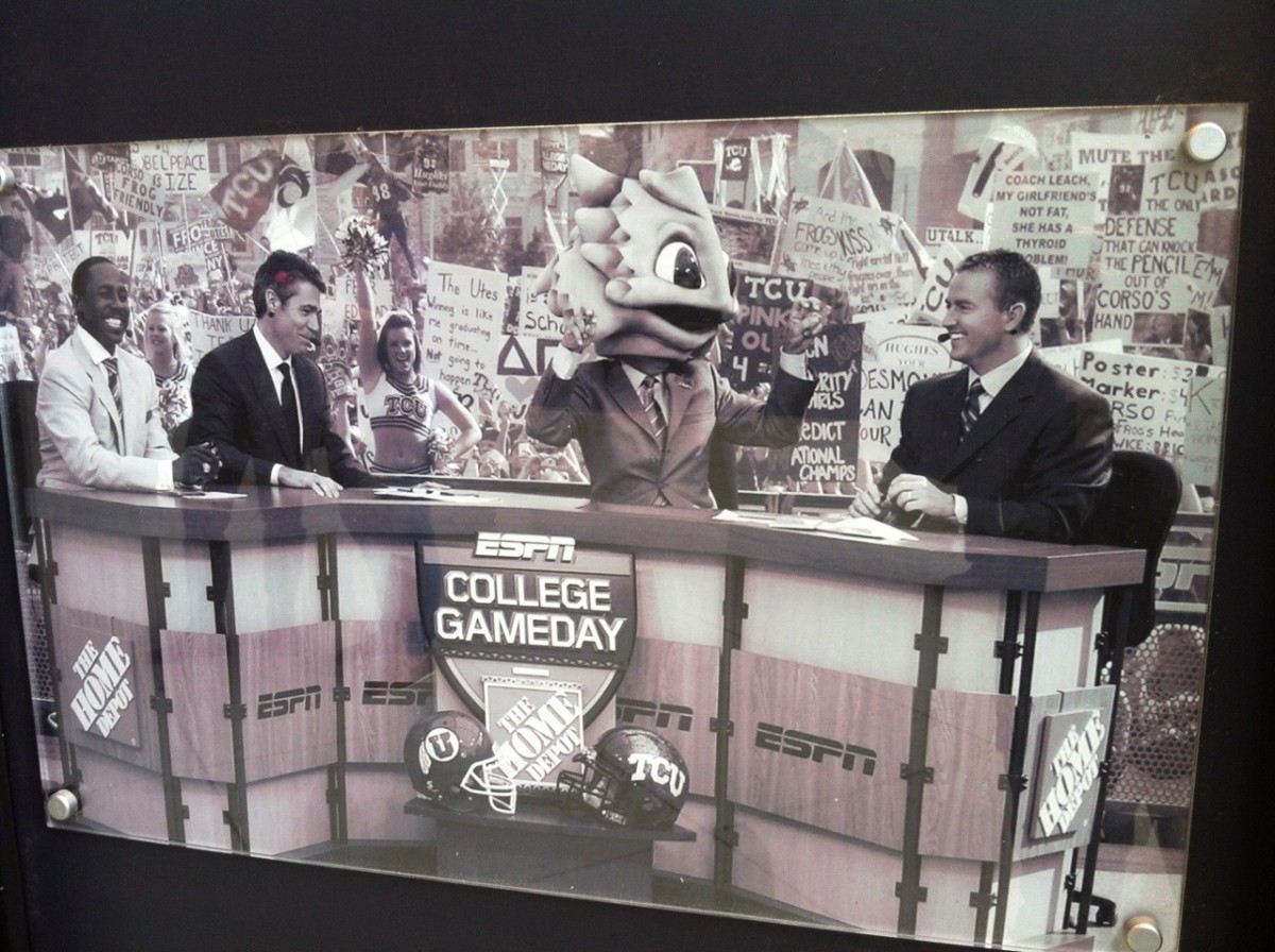 ESPN College Game Day visits TCU November 8, 2009