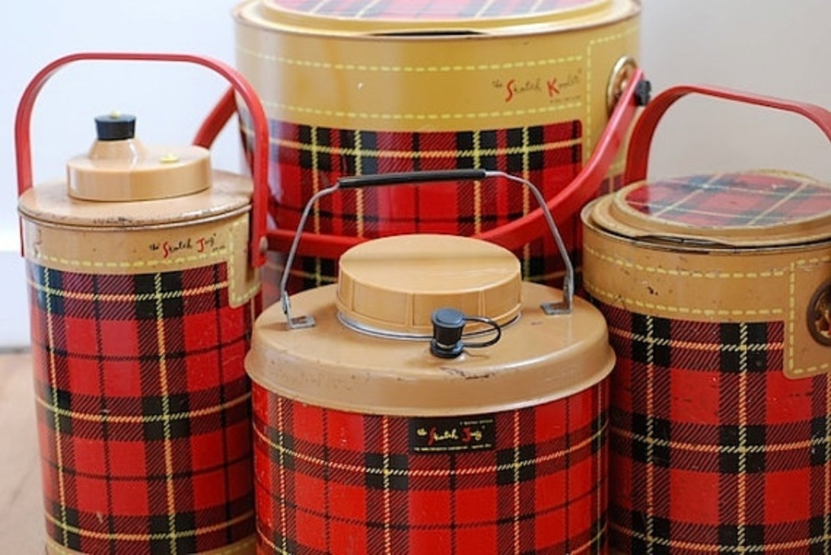 "One of these Tartan Plaid Coolers was my first Camping purchase... it has become our ""Beverage Cooler"""