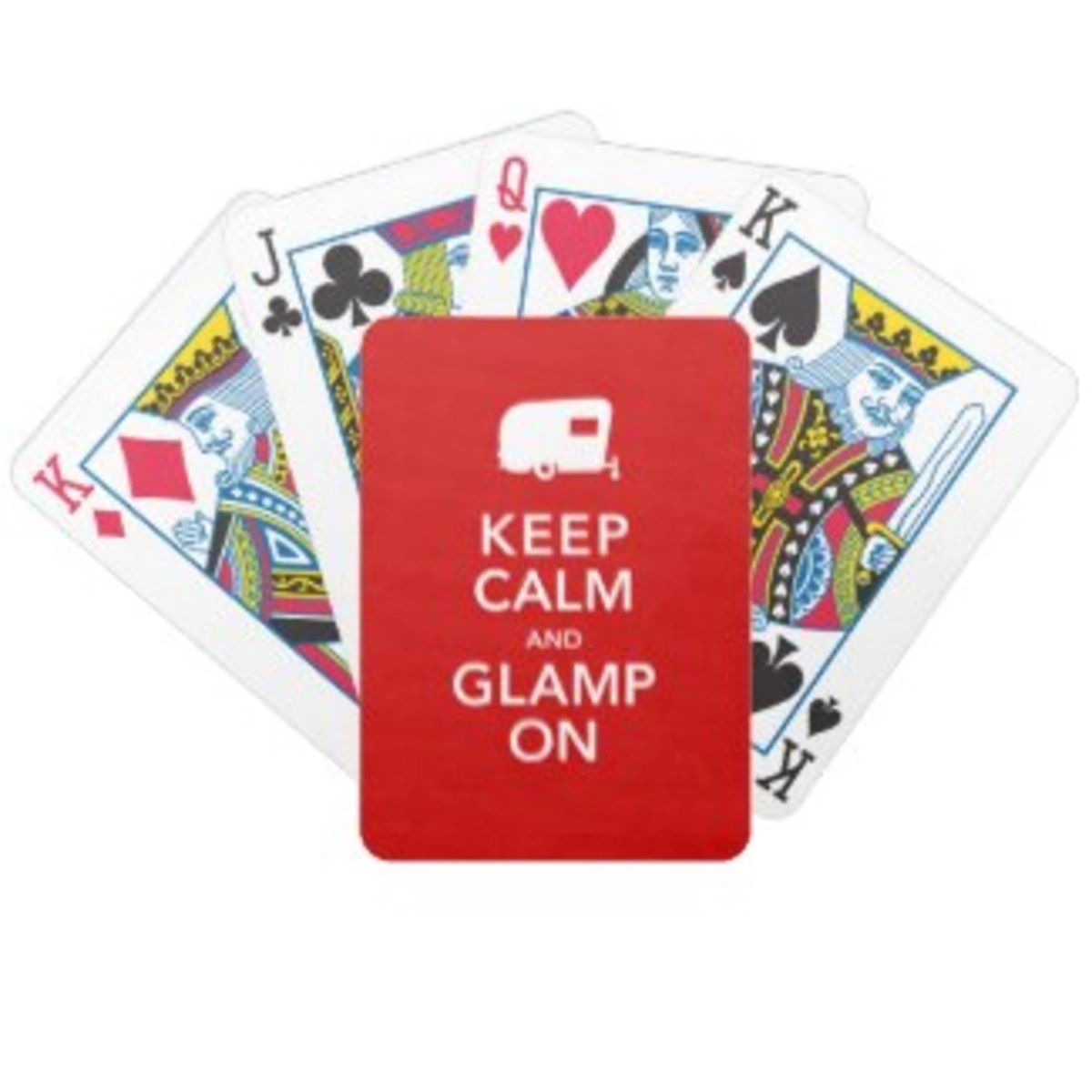 """A fun """"Camper-warming"""" gift for Glampers or vintage camper rallies."""