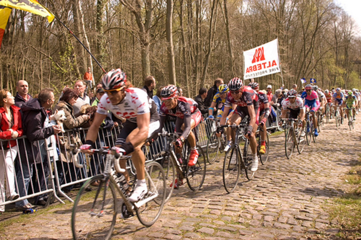 Many Professional Cyclists have finished Paris Roubaix and complained of a buzzing effect on their hands due to the vibration as the wheel bounces off the cobblestones